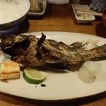 """おおはし - """"黒めばる""""の焼き魚定食。これが絶品!"""