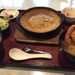 33824843 - 味噌煮込みハンバーグ定食(1680円)