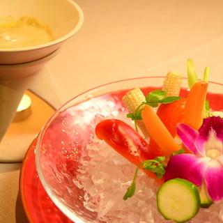 産地直送ならではの美味しさ!北海道産の鮮魚と野菜を堪能できる
