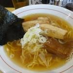 Adumaza - あっさり出汁そば550円