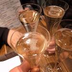 ミッテラン - 2回目の乾杯