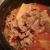 Kung - 料理写真:チゲ定食(チゲ・サラダ・ごはん)通常750円・ランチパスポートで500円