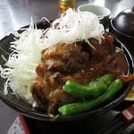 勝央サービスエリア(下り線)レストラン - 武蔵二刀流丼