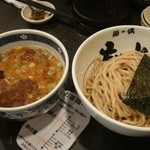 33829575 - 辛味噌つけ麺 750円