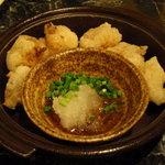 チーズタッカルビ 肉 居酒屋半 - モツの唐揚げ