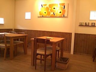 ガレット カフェ - オープンスペース