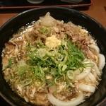 讃岐製麺 - 料理写真:肉玉あんかけうどん(並)