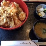 とみざわ - 料理写真:天丼