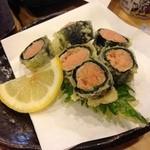 きばらし - 明太とシソの天ぷら