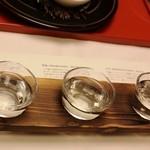 望水 - 日本酒飲み比べセット 1000円