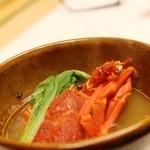 望水 - 海鮮辛味鍋 ロブスター、ぱーな貝、帆立、白菜、チンゲンサイなど