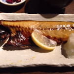 33833627 - 焼魚定食(サバの塩焼き) ¥550 のサバの塩焼き