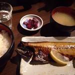 33833628 - 焼魚定食(サバの塩焼き) ¥550
