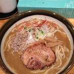麺屋 花菱 - 海老味噌ラーメン大盛り
