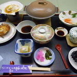 北海道温根湯温泉 大江本家 - 料理写真:夕食