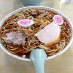 仙台屋食堂 - 料理写真:中華そば大盛り