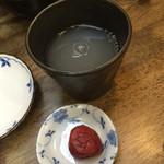 33836133 - 蕎麦焼酎の蕎麦湯割り(2014/12)