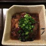 33838537 - コラーゲンたっぷり…目玉の生姜煮…日本酒に合う