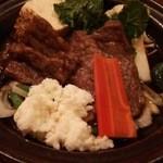 日本料理 うるわし - 陶板焼き