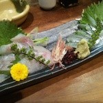 ふく鶴 - 細魚、ソイ刺身