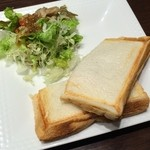 33840050 - 日替わりホットサンド+サラダ