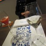 33840300 - 食前酒「スプマンテ」と「ブラッドオレンジカクテル」