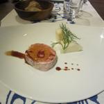 イタリアーノ プント ワイン&幸 - 「鳥取地鶏'ピヨ'のパロティーヌ」