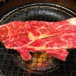焼肉 KUTARO - 焼き網いっぱいいっぱいに(^m^)