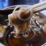 長寿庵 - カモ南ばん(蕎麦)