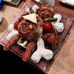 竜馬におまかせ - 大津の土から造った骨メニュー「竜馬海賊飯」