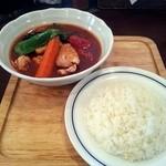 木多郎 - チキン野菜2