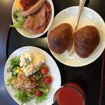 横浜マンダリンホテル - 3日目の朝食は、洋食バージョン。