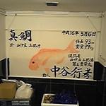 さかなかや - 大将が釣った大鯛の魚拓
