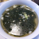 友琉館 - ワカメスープ
