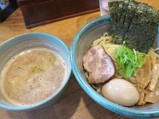 麺処 三鈷峰 - 特製海老つけ麺