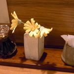 蕗の薹 - カウンター6席 テーブル4席☆♪
