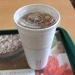 モスバーガー - ウーロン茶L
