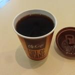 マクドナルド - プレミアムローストコーヒー:100円