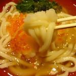 丸亀製麺 - いくらうどん:590円