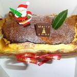 くろねこ軒 - 料理写真:2014年クリスマスのケーキ/チーズケーキ