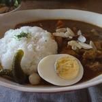 カフェ・うーるー - 時間をかけたカレールーと豚肉