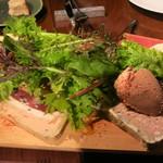 レストランユニック - 前菜盛り合わせ(逆から)