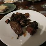 レストランユニック - 山鳩の肉と内臓