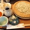 Ichibun - 料理写真:天ざるそば H26.12