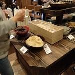 阿古屋茶屋 - デザートコーナー