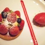 グッチ・カフェ - 苺のタルト(本日のタルト)2014-12