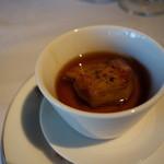 澤亭 - 前菜2:ポルチーニのフラン・フォアグラ添え