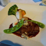 澤亭 - 肉料理:牛フィレ肉のポアレ