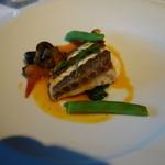 澤亭 - 魚料理:真鯛のポワレ