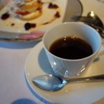 澤亭 - 食後のコーヒー